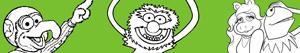 Omalovánky Muppet
