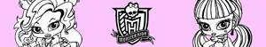 Omalovánky Monster High Baby