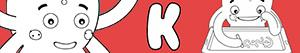 Omalovánky Jména pro Chlapce na písmeno K
