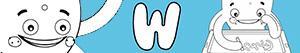 Omalovánky Jména pro Chlapce na písmeno W